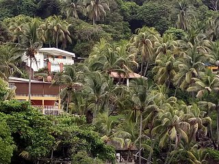 Shalpa private beach front house, gated community