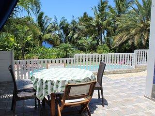 'Reve Bleu', magnifique ' loft ' dans villa  Manapany Les Bains 97480 Bienvenue