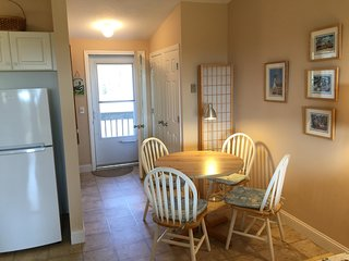 2nd Floor Large Studio,  Private Deck with distant Water View