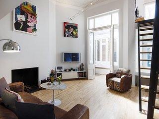 In London with Internet, Terrace, Balcony, Washing machine (961058)