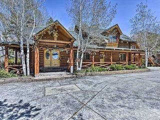 3BR Rustic Log Home Near Salt Lake Ski Resorts