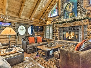 Huge Rustic Log Home Near Salt Lake Ski Resorts!