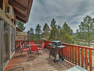 NEW! Ruidoso Condo w/ Game Room, Balcony, & Pool!