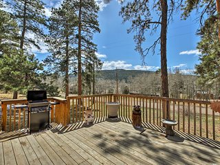 NEW! Remodeled Conifer Cabin w/ Mountain Views!