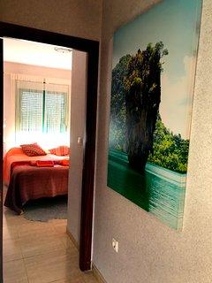 Lilla hallen mellan sovrummen