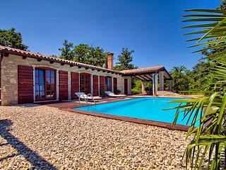 The Istrian Villa Angelina near Rovinj