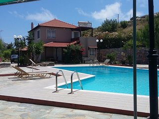 3 bedroom Villa in Ksirokampos, Crete, Greece : ref 5551823
