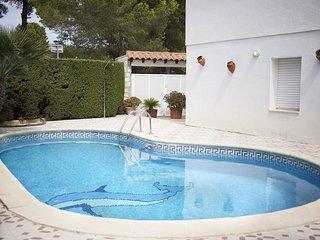 4 bedroom Villa in Calafat, Catalonia, Spain : ref 5609319