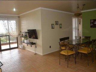 Lindo e confortável 3 quartos com Vista p/ Mar.