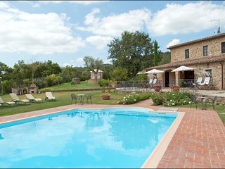 8 bedroom Villa in Oliveto, Tuscany, Italy : ref 5239824