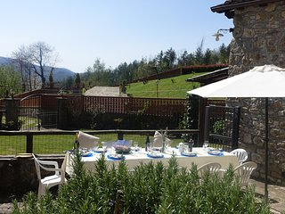 Lucca-BORGOVECCHIO-Charming c17th House w/Mountain Views- WIFI - small Pool