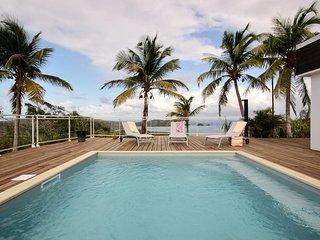 Villa Vert Azur, 3 chambres, vue mer a 360°, proche spot de surf & plages,calme