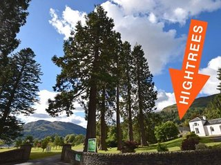 Hightrees at Drimsynie - Excellent value for a larger family or group of friends