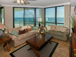 Gulf-front 5th floor | In/Out/Kiddie pools, Hot tub, Tennis, Fitness, BBQ, Wifi