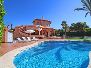 4 bedroom Villa in Calpe, Valencia, Spain : ref 5487633