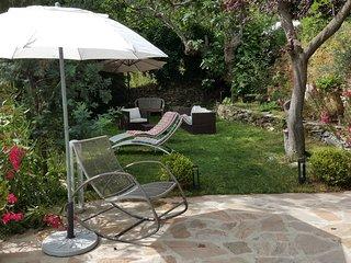 Casa Olmu et son jardin au coeur de la Conca d'Oru, charmant deux pièces