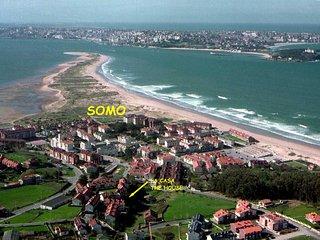 Preciosa casa a 5 min andando playa y centro de Somo. 20 min. ciudad Santander!!