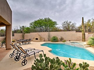 NEW! Scottsdale Home w/Pool & Spa on Golf Course!