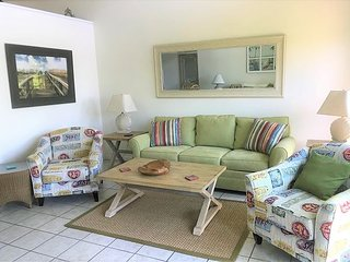 Two bedroom, Two and a Half Bathroom Mere Footprints to the Beach Unit 27