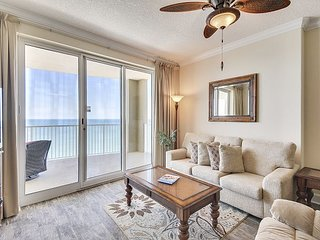 Modern and SANITIZED condo with outstanding beach views at Ocean Villa!
