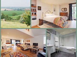 Large self-contained Farm Apartment, Stunning Countryside Views, Nr Bath (CN)