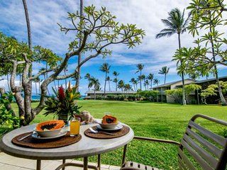Romantic Getaway + Ocean Views + King Bed + Ground Floor Napili Shores