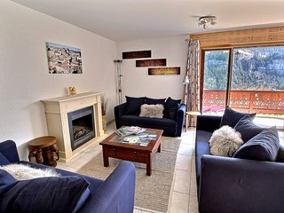 Bouquetins B4 - Spacieux appartement a 100 metres du centre du village