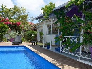 Villa Frégates, marina et plage à 100 mètres, tout à pied