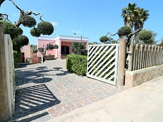 Holiday home in San Foca di Melendugno in Salento at 600 Mt from the beach
