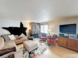 Family-friendly 4BR - Drive Minutes to Downtown & Ski Resort