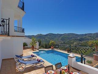 3 bedroom Villa in Frigiliana, Andalusia, Spain : ref 5226605