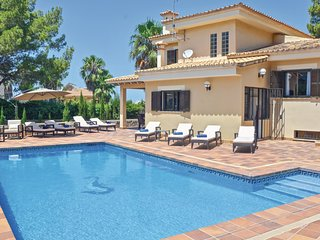 4 bedroom Villa in Badia Blava, Balearic Islands, Spain : ref 5566540