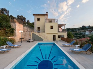 4 bedroom Villa in Maroulas, Crete, Greece : ref 5546670
