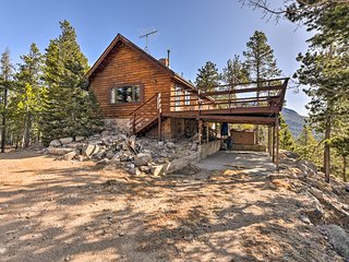 NEW! 5-Acre Rocky Mtns Cabin w/Mtn Views & Pond!