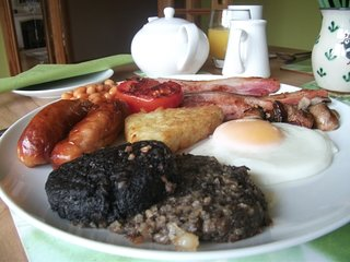 Hearty Scottish Breakfast