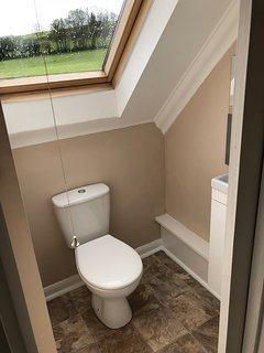 Upstairs toilet.