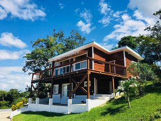 Upper level of modern house with beautiful views in San Ignacio