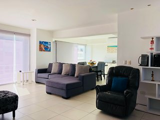 COZY 3BR & 2.5BA HORIZONTES CANCUN 7TH LEVEL APARTMENT 9 MIN TO THE BEACH!!!