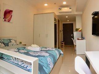 Studio Apartment#Pool & Gym# 5min to Ben Thanh market