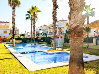 Beautiful, comfortable and child-friendly apartment with swimming pool.