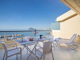 Apartamento Amanecer en Altea-Pueblo Mascarat,Alicante,para 6 huespedes