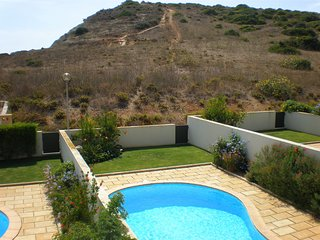DomusIberica Villa 2. Burgau. A/C, private pool and Burgau Club Canopied pool.