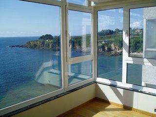 Apartamento sobre el mar con impresionantes vistas a La Coruna