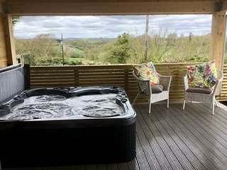 Eden Cabin - holiday home with private hot tub