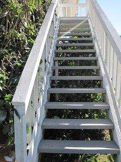 Stairway to the Sea Studio.