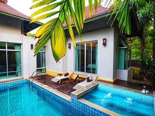 AnB pool villa with 2BR Red close to Jomtien beach