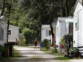 Mobile home rental 3*** campsite with pool, Meschers sur Gironde Atlantic coast.