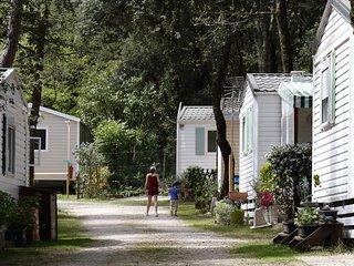 Mobile home rental 3*** campsite with pool, Meschers sur Gironde Atlantic coast.