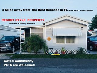RESORT LARGO FL 8 MILES FROM BEACH $75 USD /Day  Gated Community. Pets Welcome