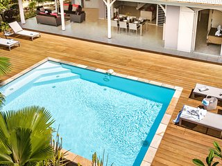 Palm Villas : 8 villas 5* en Martinique avec piscine privee